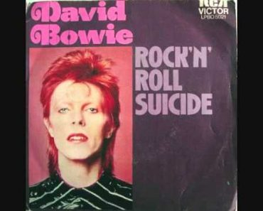 David Bowie (R.I.P.) | Rock 'n' Roll Suicide (David Bowie vocal, acoustic guitar, bass only)