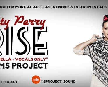 Katy Perry | Rise (vocal only)